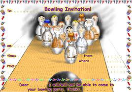 bowling party invitation template u2013 gangcraft net