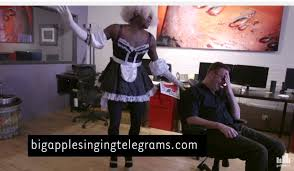singing telegrams cleveland ohio meet nyc s drag singing telegram joe my god