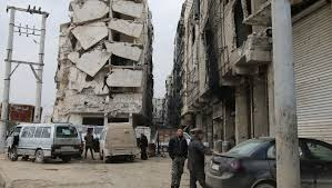 total siege aleppo s rebel zones prepare for total siege the times of