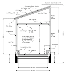 8x16 free tiny house plans cross section dainty digs tiny house