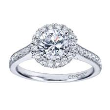 gabriel and co engagement rings gabriel and co halo engagement ring diamonds