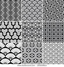 traditional japanese designs and patterns seamless vector pattern