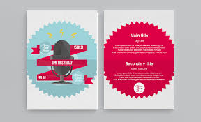 graphic design templates for flyers free flyer and leaflet design templates download now face media