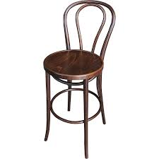 Bar Stool With Back Bentwood Stool Back Rest 80cm Front 800x800px Jpg
