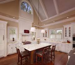 kitchen cafe curtains with wood ceiling kitchen traditional and