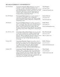 nanny resume template nanny resume sle cover letter resume sle for nanny sle