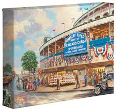 wrigley field memories and dreams 8 x 10 gallery wrapped em wrigley field em memories and dreams 8