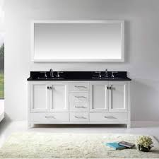 virtu usa caroline avenue 72 inch double bathroom vanity gd 50072