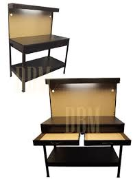 Workbench With Light Multipurpose Workbench Cabinet Light Garage Workstation Tool