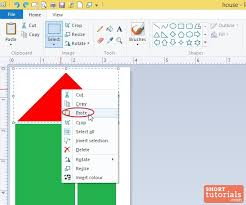 how to paste an image in ms paint windows 8