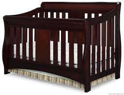 Graco Lauren Signature Convertible Crib by Cherry Wood Crib Ashton Mini Convertible Crib In Select Cherry