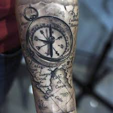 tattoo ideas for men view 29 cool compass tattoo designs men ideas great in inkedmag