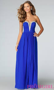 beaded strapless jvn by jovani prom gown promgirl