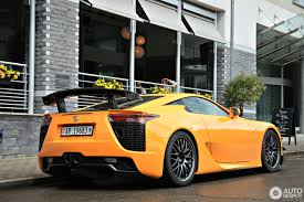 lexus hang xe nuoc nao bắt gặp siêu xe hiếm lexus lfa nurburgring edition trên phố