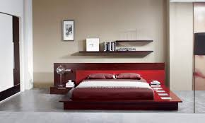Modern Platform Bed With Lights - adriana italian design platform bed with lights on platform bed