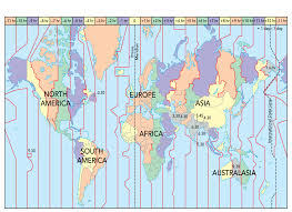 Africa Time Zone Map by Global Indicators Pptx Copy1