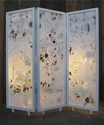 Cool Room Divider - furniture extraordinary image of folding 3 panel white upcycled