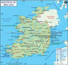 Dublin Ireland Map Ireland