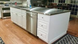 stainless steel countertop with built in sink stainless steel countertop with integrated sink island healthfestblog