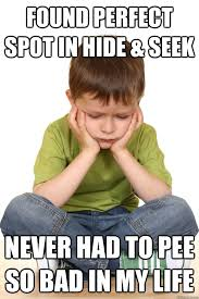 Hide And Seek Meme - takes a bite of lucky charms no marshmallows first grade problems
