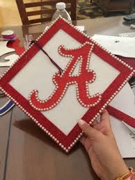 university of alabama graduation cap roll tide pride