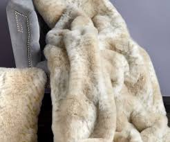 Pottery Barn Faux Fur Pillow Prodigious Lynx Limited Edition Faux Fur Throw Blankets Lynx