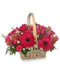 auburn florist best wishes basket of fresh flowers in auburn ny foley florist