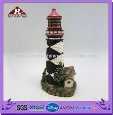 Lighthouse Garden Decor Resin Resin Lighthouse Decorative Crafts Resin Resin Lighthouse