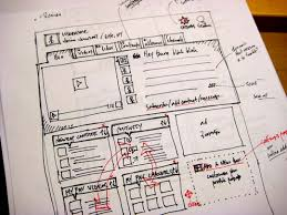 33 great examples of web design sketches website wireframe and