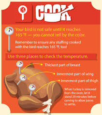 usda has a poultry hotline you can call thanksgiving day from