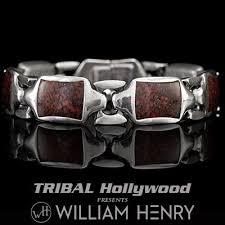 man rubber bracelet images Mens silver bracelets tribal hollywood jpg