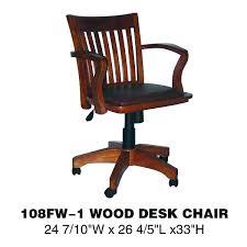 chaise de bureau en bois à de bureau en bois a chaise de bureau en bois antique