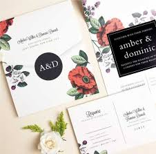 designer wedding invitations wedding invitations match your color style free