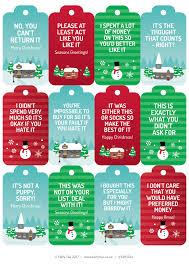 free u201chonest u201d christmas gift tags u2013 printable present tags with