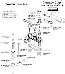 American Standard Heritage Faucet American Standard Bathroom Faucet Parts Sink Lav Shower Diagram