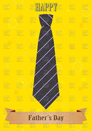 yellow father u0027s day card with tie vector image 76384 u2013 rfclipart