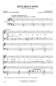 boat song satb arr althouse j w pepper sheet