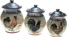 ceramic kitchen canisters rooster kitchen canisters ebay