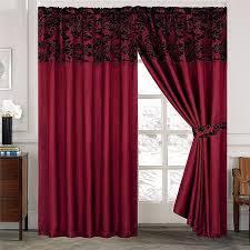 damask kitchen curtains luxury damask curtains pair of half flock pencil pleat window
