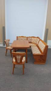 www m37auction com german corner nook booth dining room table w