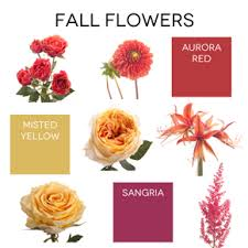 2015 fall flowers pantone inspiration flower muse blog