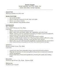 Sample Resume For Housekeeping Prep Cook Resume Prep Cook And Line Cook Resume Samples Resume