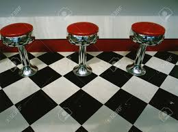 Art Deco Flooring This Is An Art Deco Style Restaurant It Has A Black And White