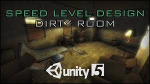 speed level design dirty horror room unity 5 youtube