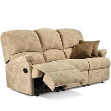 3 seater recliner sofa sherborne nevada 3 seater recliner sofa standard sofas prices