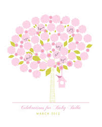 baby shower poster baby shower poster ideas custom signature tree baby shower poster