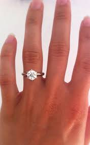 size 6 engagement ring best 25 solitaire engagement ring ideas on