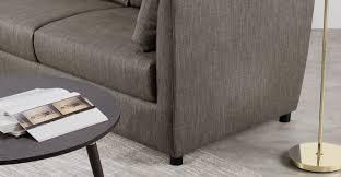 Memory Foam Mattress Sofa Bed by Milner Left Hand Facing Corner Storage Sofa Bed With Memory Foam