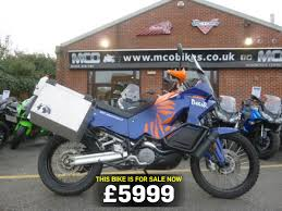 bike of the day ktm 990 adventure mcn
