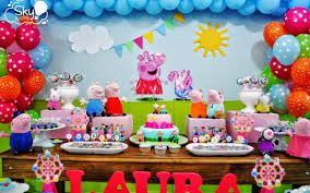 peppa pig party george pig party wish